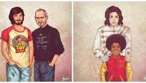 ilustraciones-celebridades-antes-despues