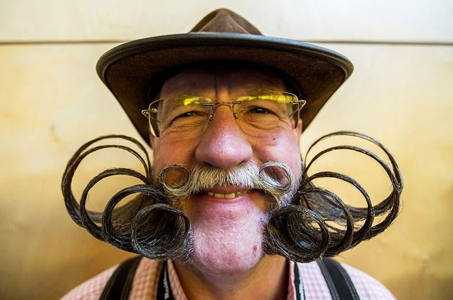 El campeonato mundial de bigotes y barbas de Austria te dejará alucinado