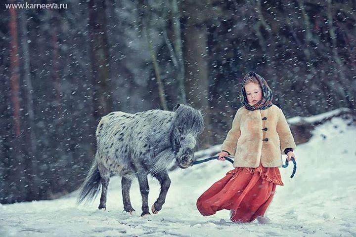 niños con animales 7
