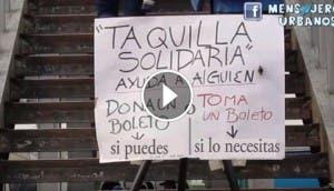 taquilla-solidaria-metro-experiemento-mensajeros-urbanos