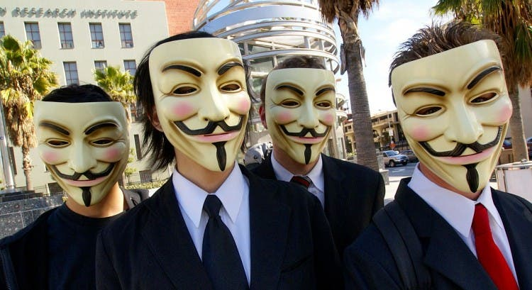 Anonymous-mascaras