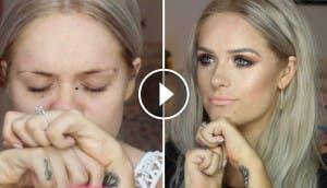 belleza-unica-chica-lucha-con-maquillaje-perserverancia-contra-paralisis