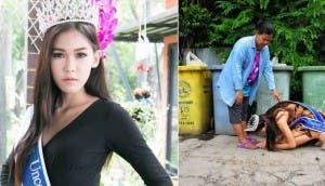 miss tailandia agradece madre 4