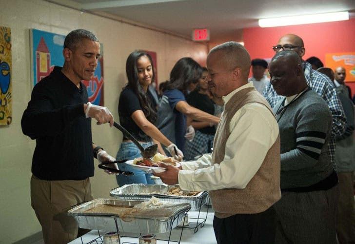 El Presidente Obama dio un ejemplo de bondad y humildad el du00eda de ...