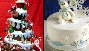pasteles navideños id