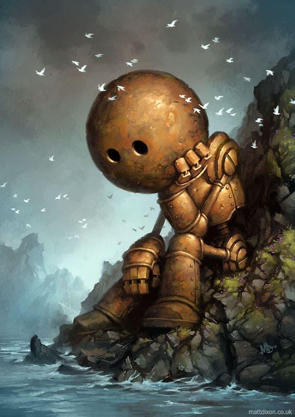 robots solitarios 2