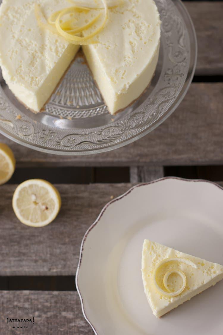 Aprende a hacer una tarta de limón y sin usar el horno