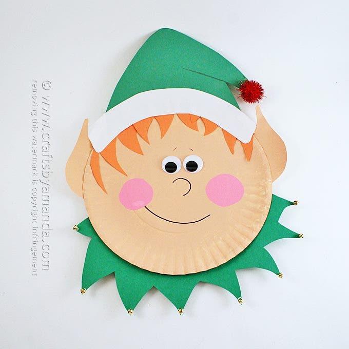 navidad platos carton 4