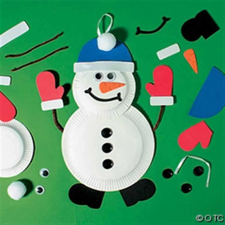 navidad platos carton 6