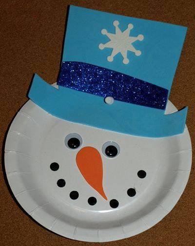 navidad platos carton 7