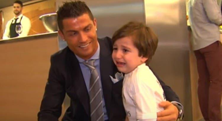 El Real Madrid hizo realidad el sueño de Haidar, el niño que perdió a sus padres en un atentado