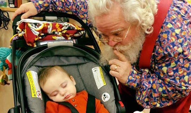 santa bebé dormido 6