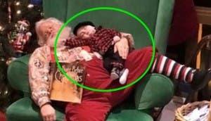 santa bebé dormido 9