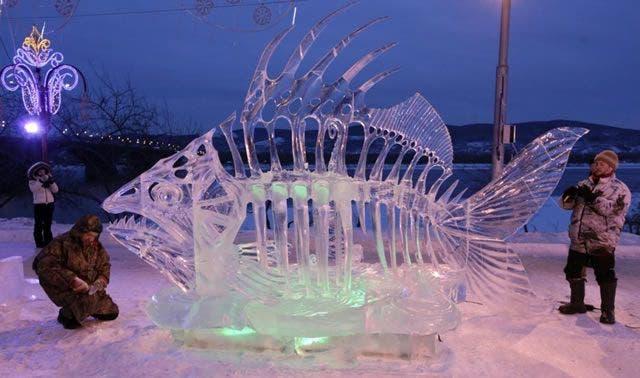 esculturas de hielo 5