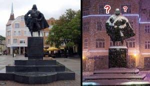 estatua vader id