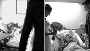 recien-casados-sorprenden-a-su-abuela-antes-de-morir