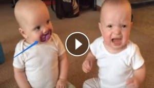 dos-bebes-pelean-por-un-chupete-video