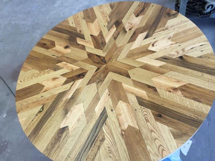 mesas madera reciclada 10