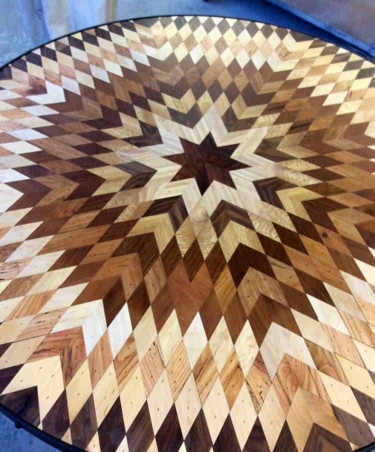 mesas madera reciclada 11