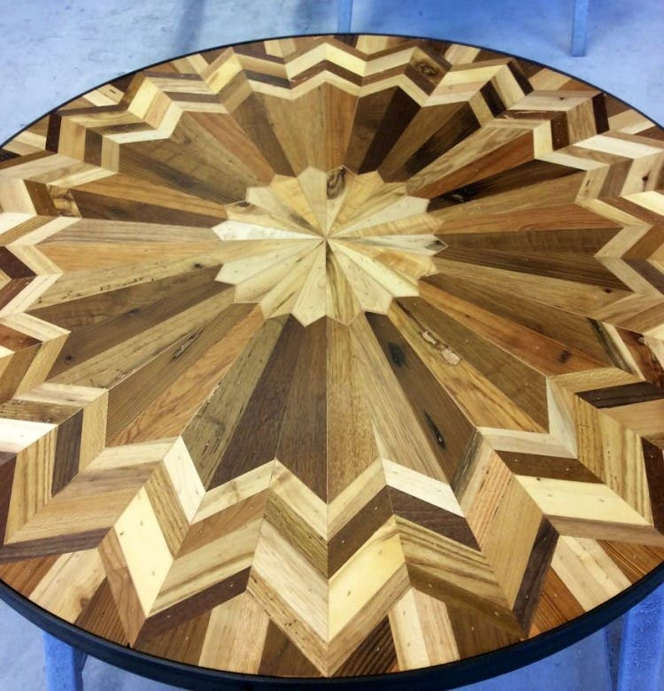 mesas madera reciclada 5