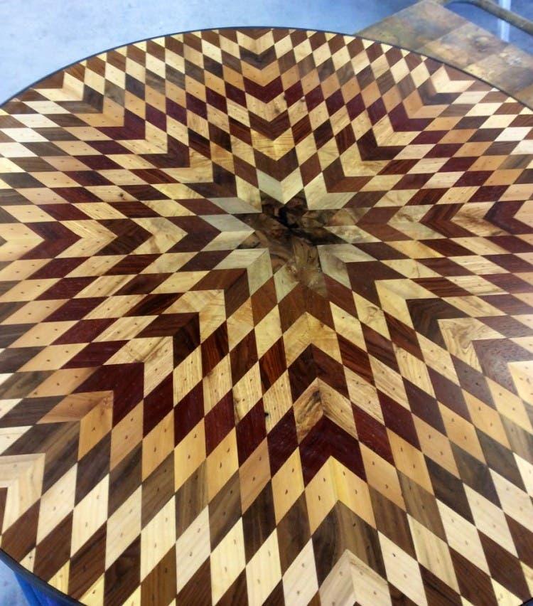 mesas madera reciclada 6