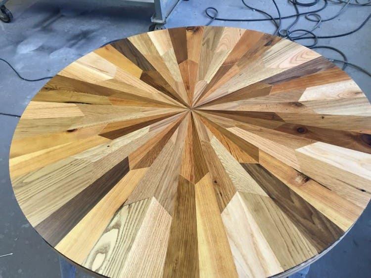 mesas madera reciclada 7