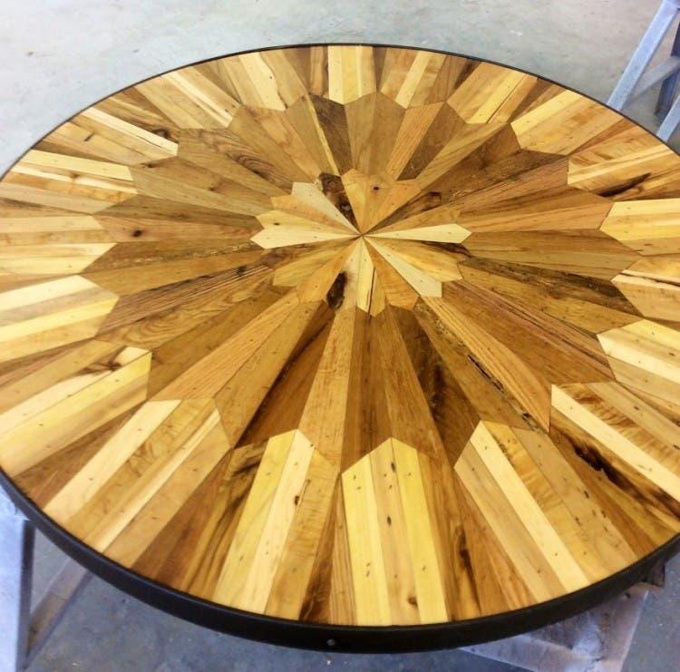 mesas madera reciclada 8
