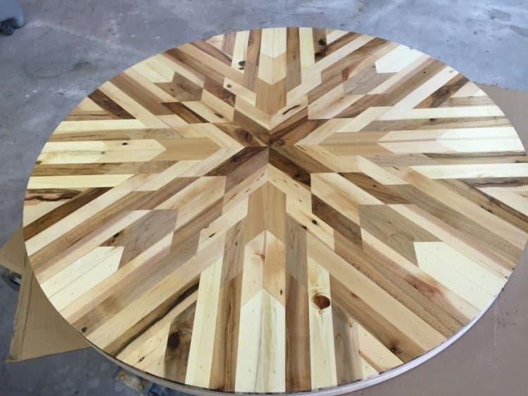 mesas madera reciclada 9