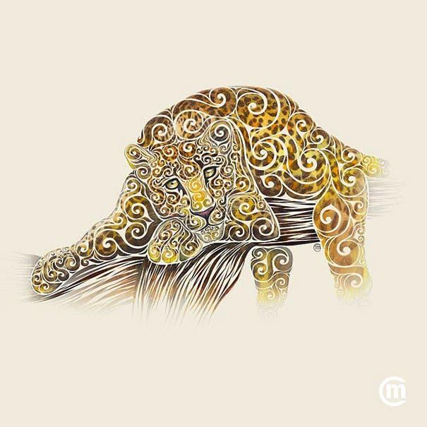 animales swirly 15