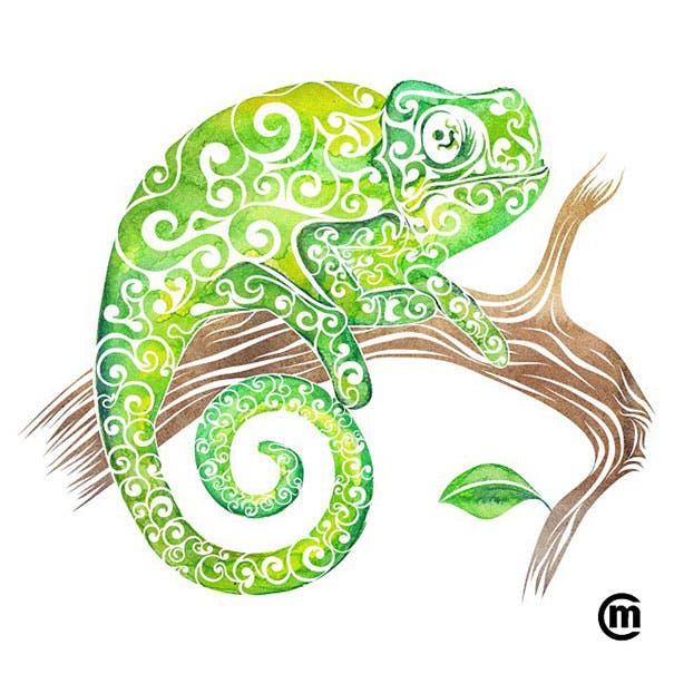 animales swirly 8
