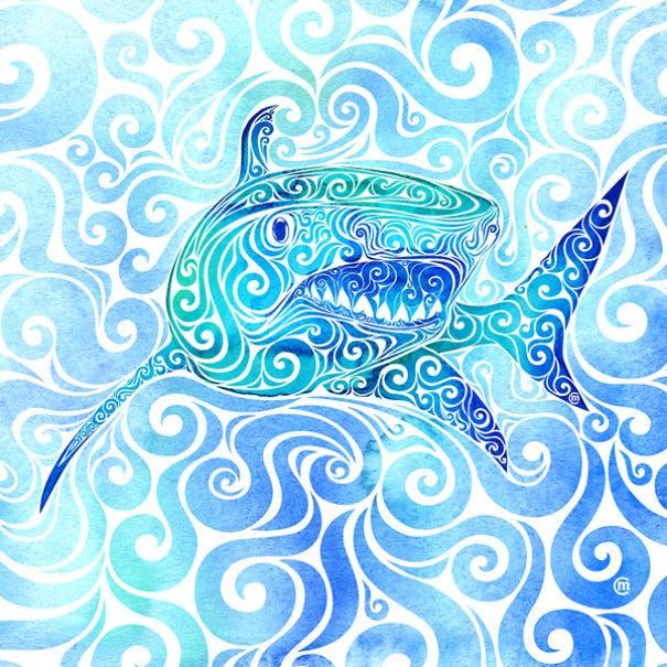 animales swirly 9