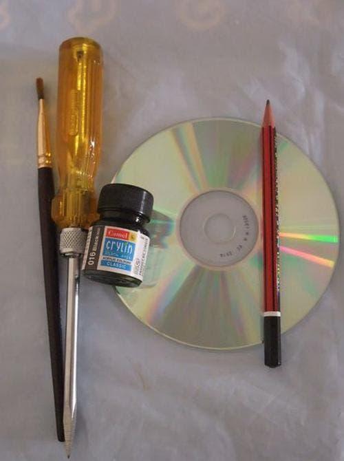 arte con cd's 1