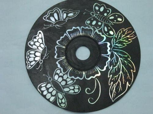 arte con cd's 6
