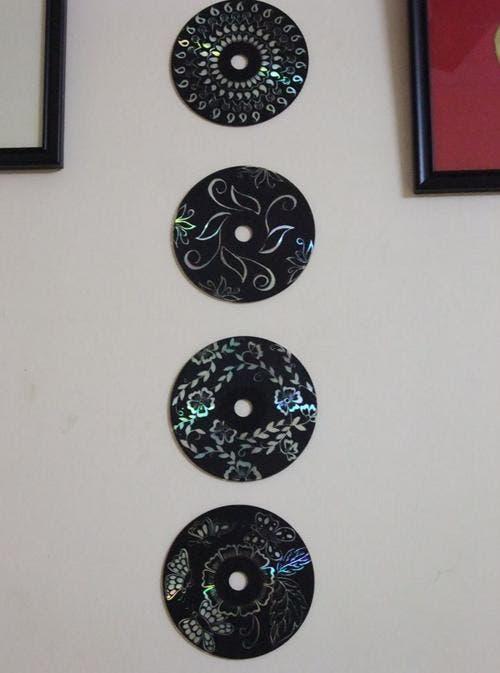 arte con cd's 7