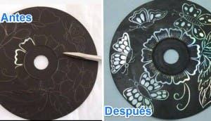 arte con cd's 9