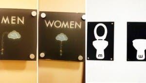 divertidos señalamientos de baño id