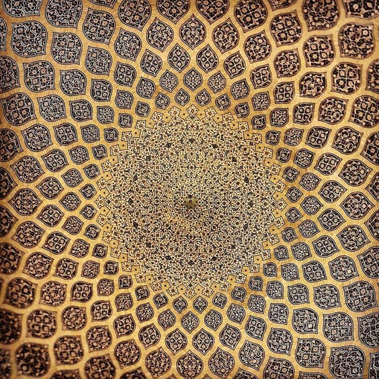hermosa mezquita en iran 10