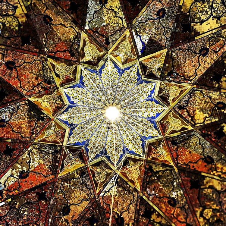hermosa mezquita en iran 12