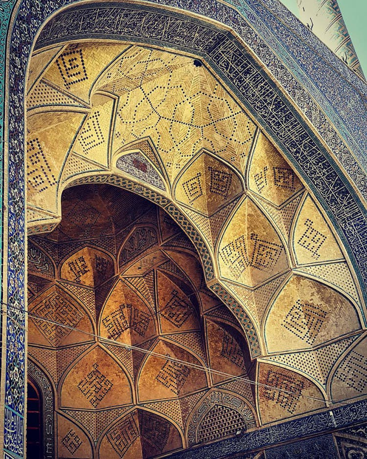 hermosa mezquita en iran 13