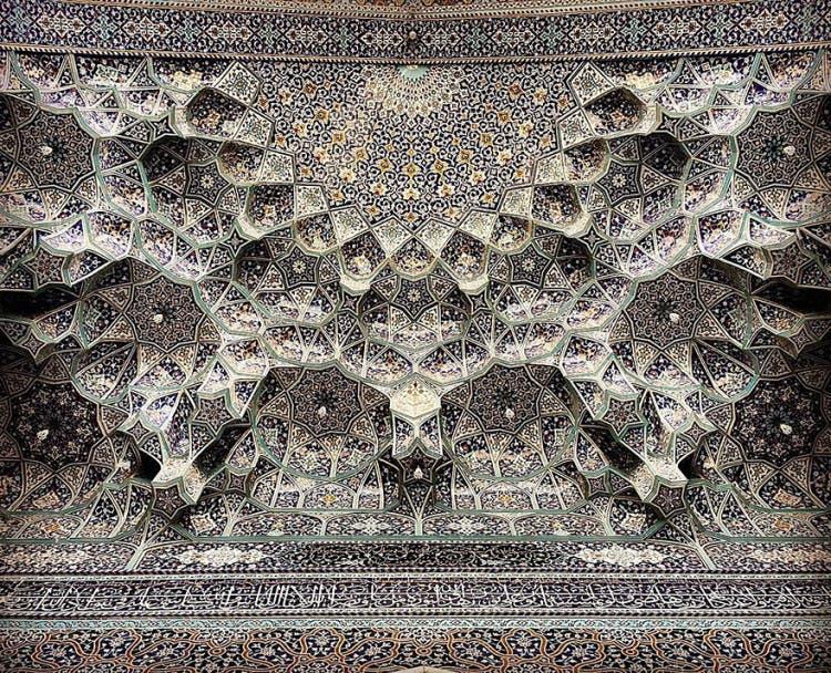 hermosa mezquita en iran 15