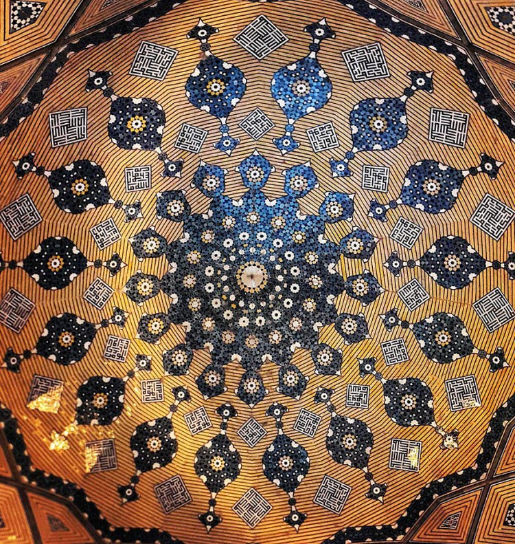 hermosa mezquita en iran 5