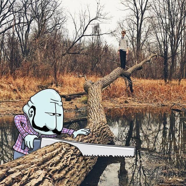 lucas-levitan-foto-bombing-creatividad-imaginación-jugar-sentimientos