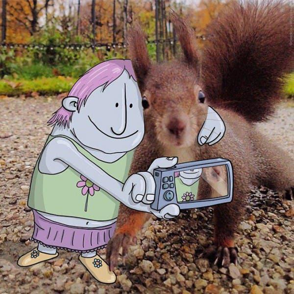lucas-levitan-foto-bombing-creatividad-imaginación-selfie