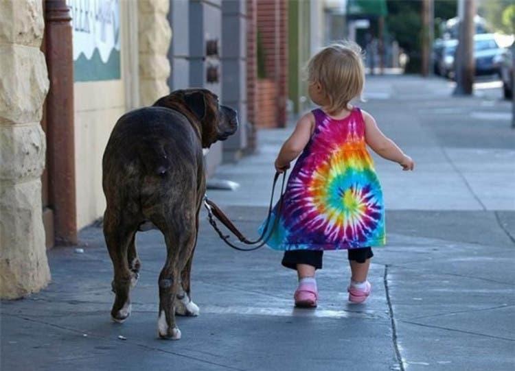 nina-paseo-perro