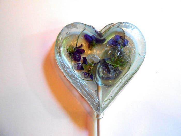 paletas de flores de caramelo 9