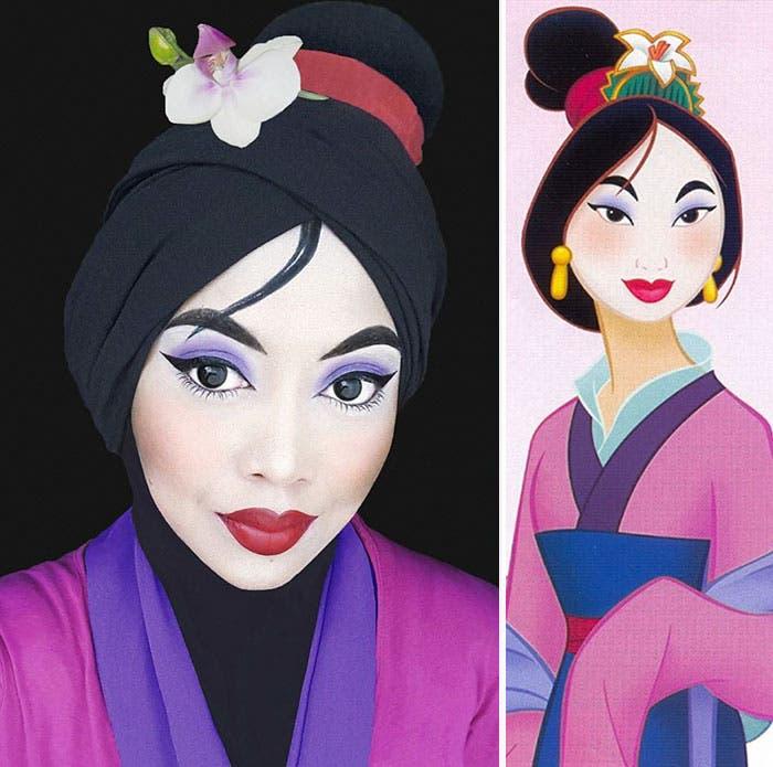 princesas hiyab 2