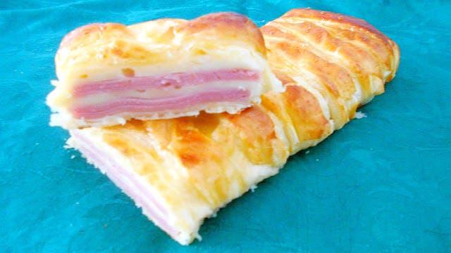 trenza de queso y jamón 1