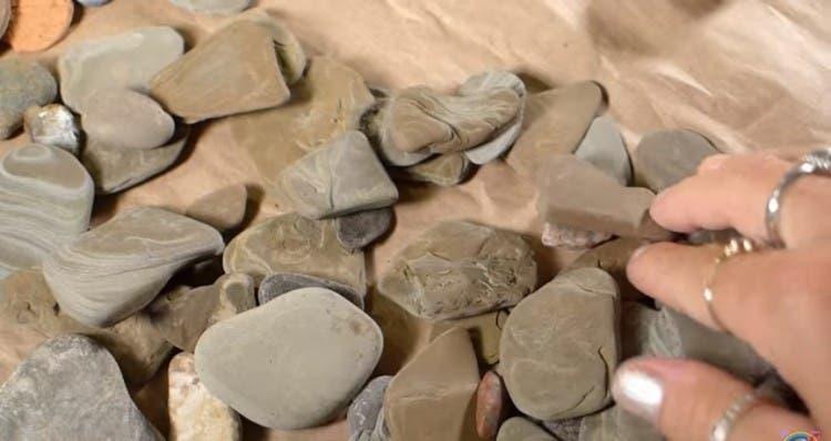 decoración rocas pintadas 4