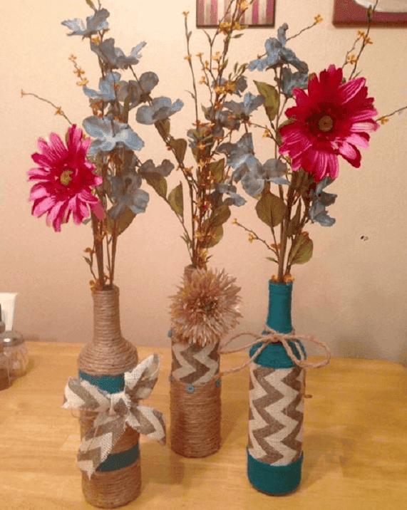 decorar y reciclar botellas 3