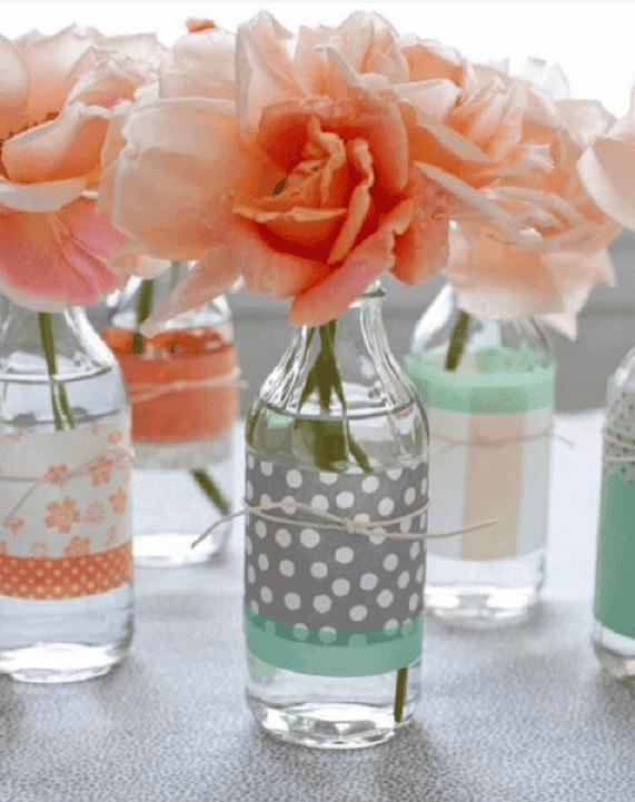 decorar y reciclar botellas 4
